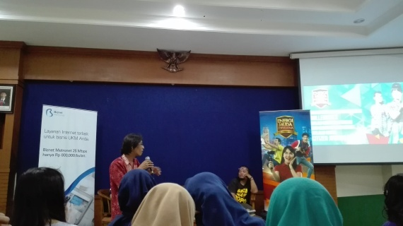 Seminar Citizen Journalist Academy Semarang